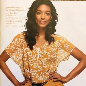 Cabi Fall 2018 Thrive Top, size small